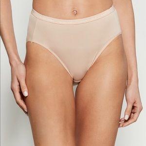 NWT Ellen Tracy 3-pack Microfiber High Cut Panty